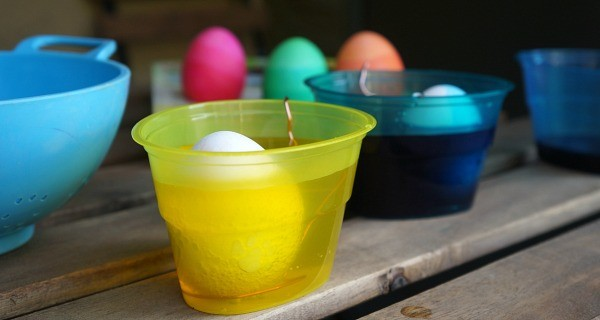 How to make DIY Ombre Easter eggs