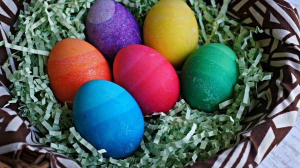 How to make Ombre Eggs, Gradient dyed Easter Eggs