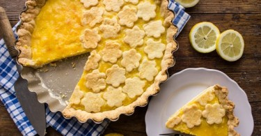 Lemon crostata dessert recipe - An Italian In My Kitchen