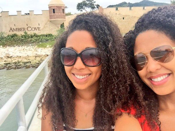 Fathom travel, ladies at Amber Cove, Dominican Republic