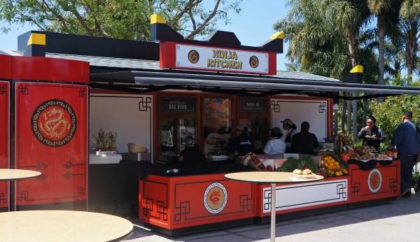 Legoland California, Ninja Kitchen, Ninjago World 1