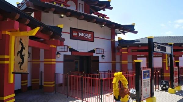 Legoland California Ninjago World new 3D ride