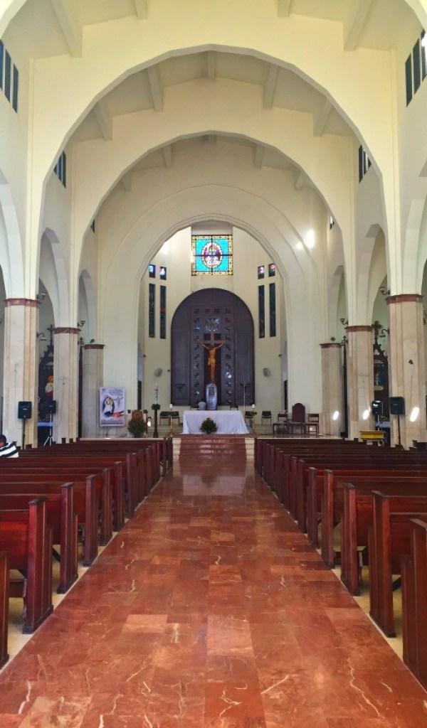 Fathom travel, Inside Cathedral San Felipe church, Puerto Plata, Dominican Republic