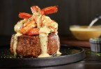 Outback Steakhouse Big Australia menu - Bearnaise jumbo shrimp topped Filet