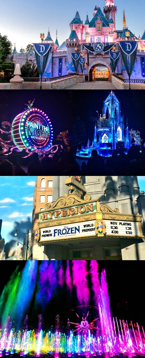 Summer at The Disneyland Resort - From the Frozen Live show to the Paint The Night parade and Disneyland Forever Fireworks show, there are so many amazing attractions that you can't miss!