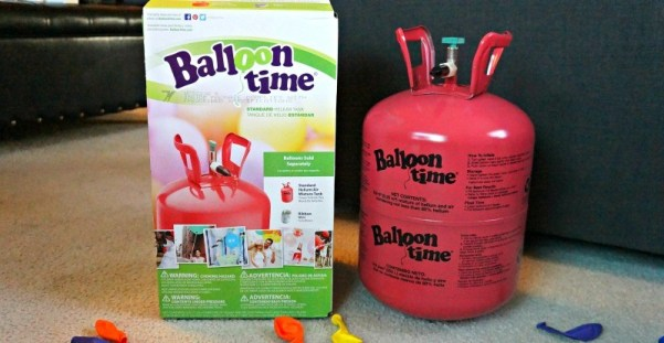 Balloon Time helium tank, perfect for parties and events