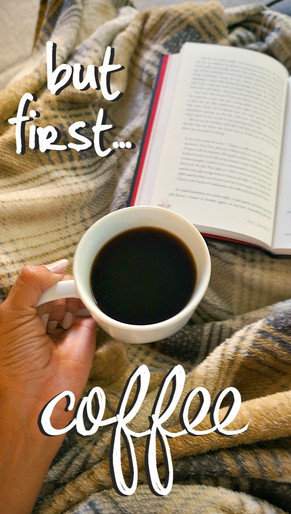 But first, coffee. Enjoying fall coffee flavors with Starbucks Fall Blend.