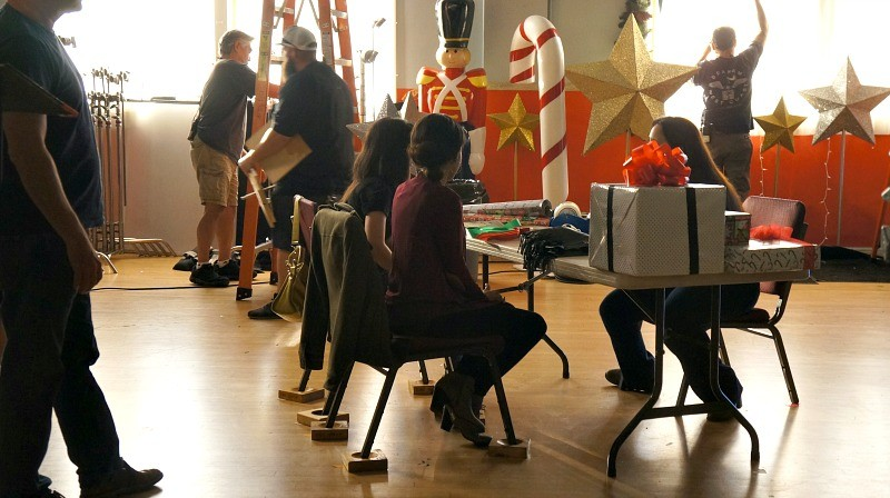on-the-set-of-abcs-american-housewife-tv-show-actors-prepare-for-the-next-scene-to-be-shot