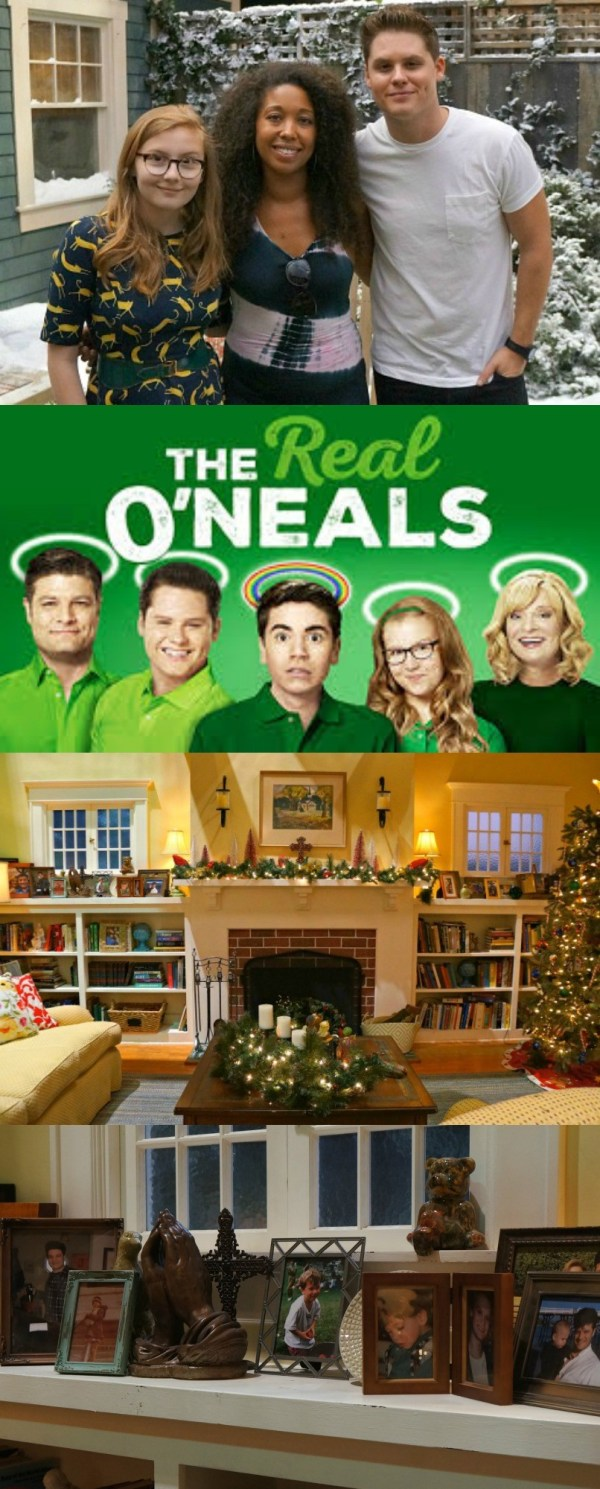 Visiting The Set and Meeting The Cast of The Real O'Neals! ABC's new show is such a fun comedy, airs on Tuesday nights