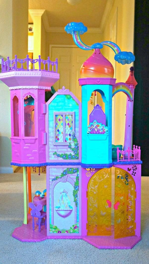 The Barbie® Rainbow Cove™ Princess Castle Playset, Honey and Lime