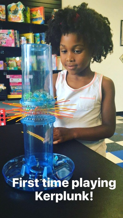 Family friendly activities in Camarillo, CA - Playing Kerplunk