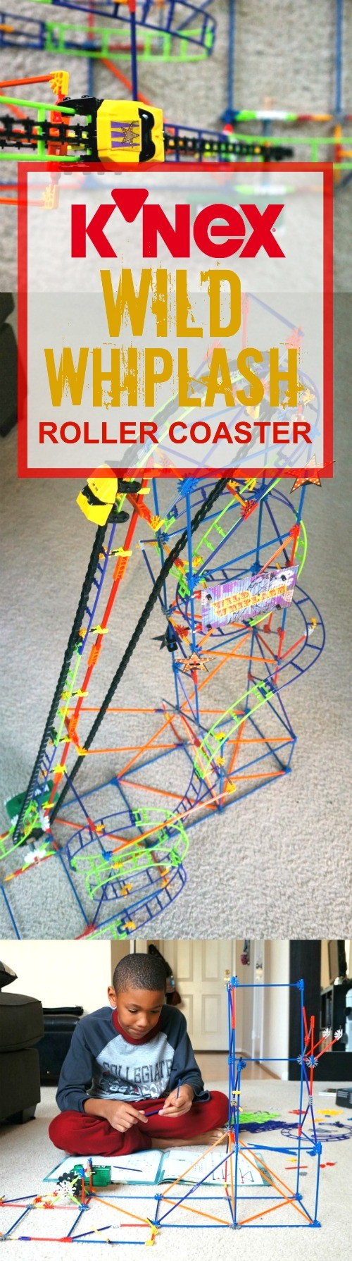 The K'NEX Wild Whiplash Roller Coaster is the perfect holiday STEM gifts for kids! Science, technology, engineering, and math (STEM) are the top sectors that kids are learning these days. With hundreds of pieces and a motorized chain lift, your future engineers will love building this and watching it go!