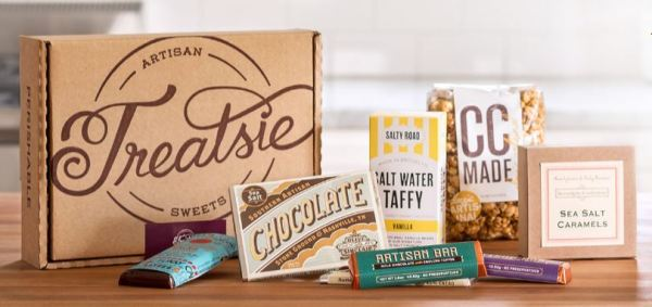 The best monthly subscription boxes, Treatsie subscription box candy sweets and treats delivered to your door