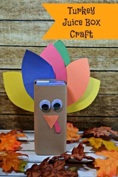 turkey juice box craft jinxy kids