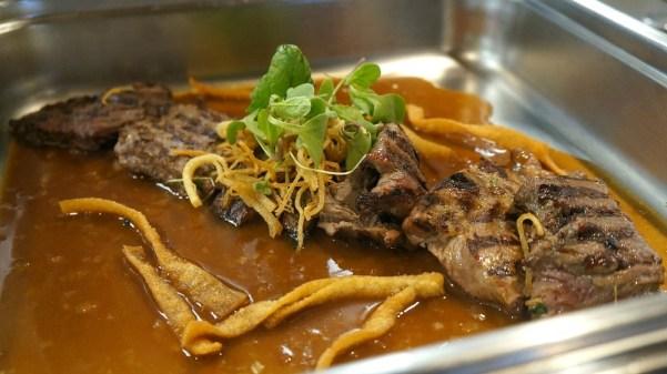 Flank steak at Azul Restaurant, Grand Velas Los Cabos