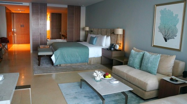 Grand Velas Los Cabos all inclusive hotel, 8th floor Ambassador Suite with king bed