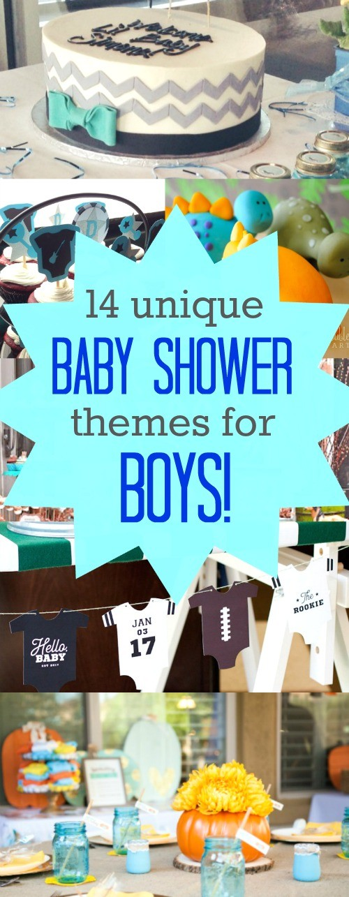 14 Super Cute and Unique Baby Shower Themes for Boys - Are you or is someone you know expecting a little boy? These unique baby shower themes for boys are super cute, we really love these boys baby shower ideas | unique baby shower theme for boys | unique boy baby shower themes | cute baby shower themes for a boy | unique baby shower themes for boy | boys baby shower themes | baby boy shower decorating ideas | baby boy shower decorations | baby shower ideas for a boy free | baby shower ideas for boys on a budget | baby shower themes for boys | honeyandlime.co