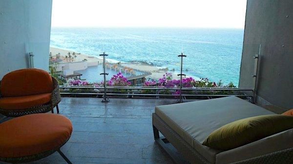Grand Velas Resort Cabo rooms - Ambassador Suite Ocean-View Balcony