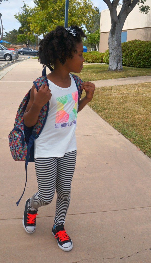Girls T-Shirt Outfit Ideas - School day ready