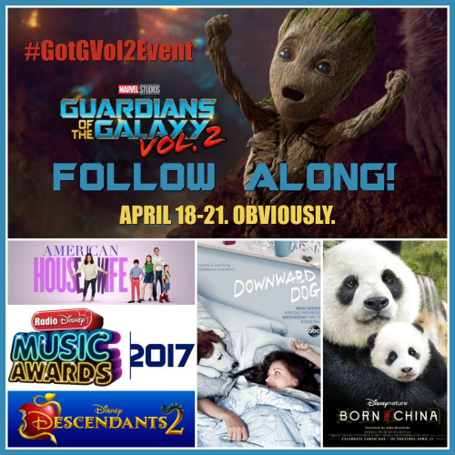 Guradians of the Galaxy event, #GotGVol2Event Button