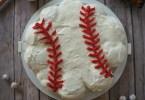 Baseball Cupcakes, How To Make a Pull Apart Cupcake Cake