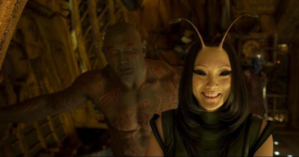 Guardians of the Galaxy Vol 2 Drax and Mantis photo