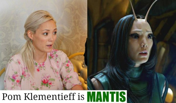Guardians of the Galaxy Vol 2 new characters, Pom Klementieff is MANTIS