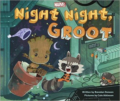 Marvel Guardians of the Galaxy vol. 2 Night night Groot book