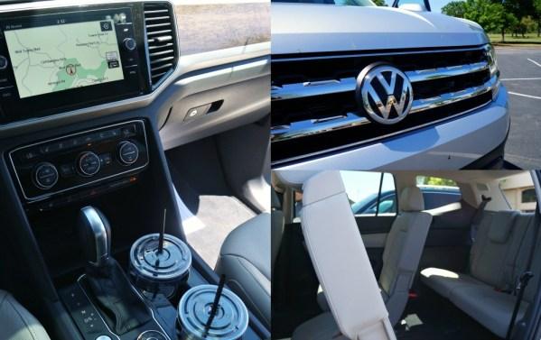 Interior of the 2018 VW Atlas SUV