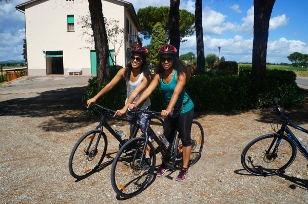 Florence bike tour with wine tasting in Italy
