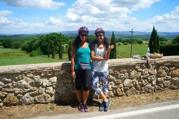 Girls cycle through Tuscany with Bike Florence and Tuscany