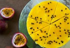 Tropical passion fruit cheesecake recipe