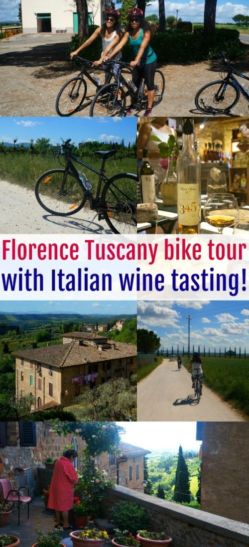A Florence Bike Tour With Wine Tasting Through Tuscany We'll Never Forget!