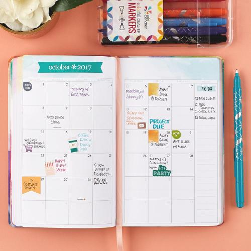 The Erin Condren LifePlanner is the absolute best 18-month planner out there! So cute and keeps ,me organized