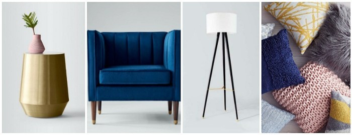 Project 62 at Target, living room furniture and accents