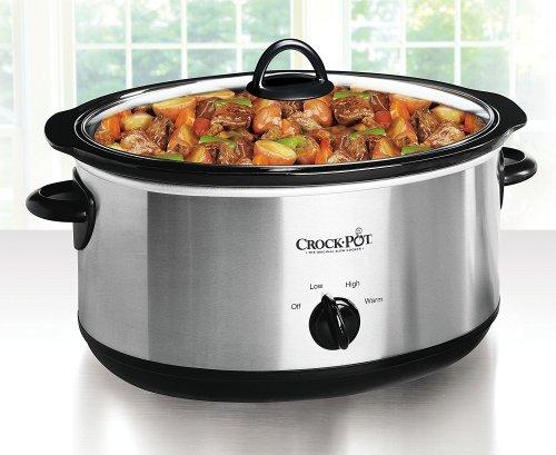 Crock Pot 7 Quart Manual Slow Cooker