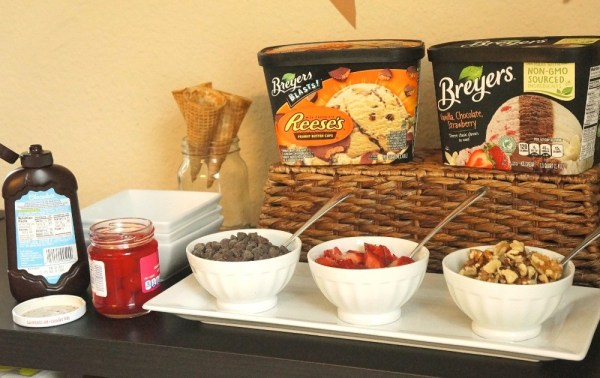 DIY ice cream party ideas we love this easy ice cream sundae bar