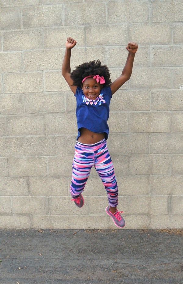 Style up for school with OshKosh kids clothes - Jumping for joy that school is back in session