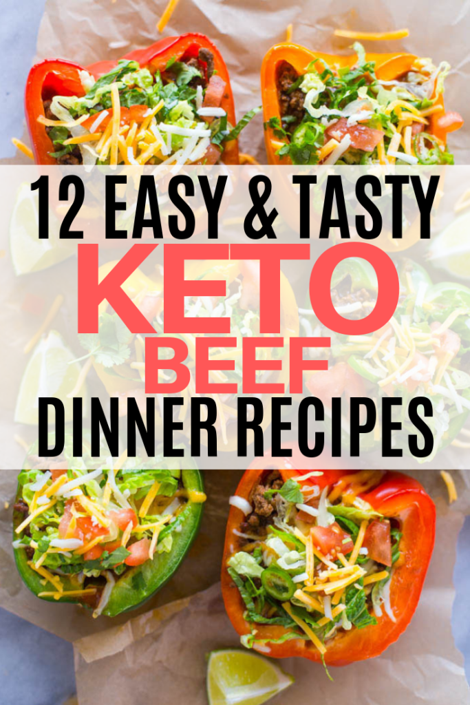 Top Keto beef recipes - some of the best keto dinner ideas