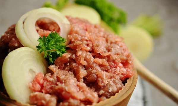 ground beef meat in a bowl