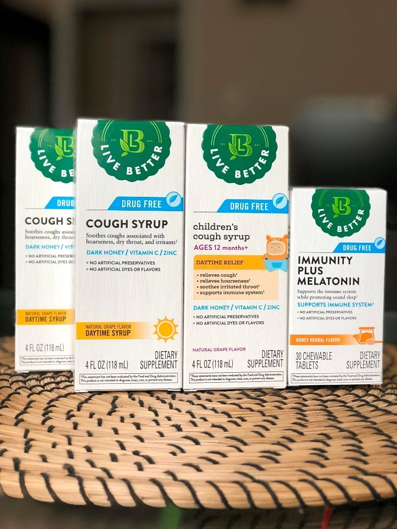 CVS Pharmacy Live Better natural cold and cough products
