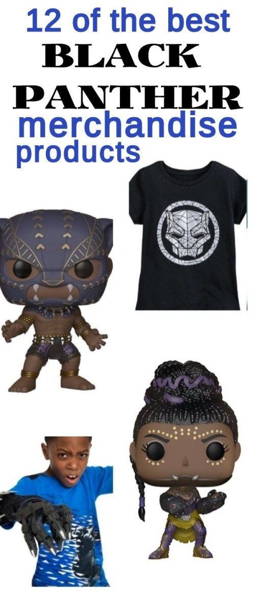 11 Awesome Marvel Black Panther Merchandise Products You NEED For Black Panther Fans