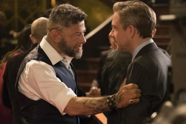 Black Panther movie Andy Serkis and Martin Freeman