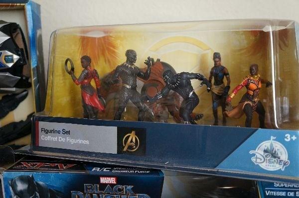 Marvel Black Panther merchandise mini figurine set
