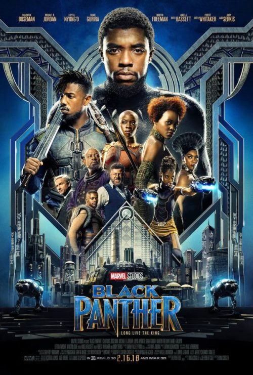 Marvel Black Panther movie poster
