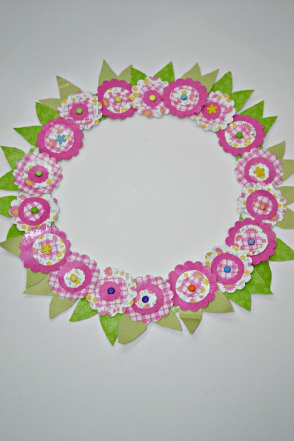 Easter Wreath-Spring-Paper