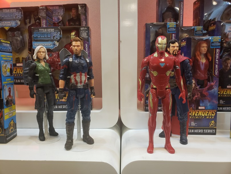 Avengers Infinity War products, character action figures