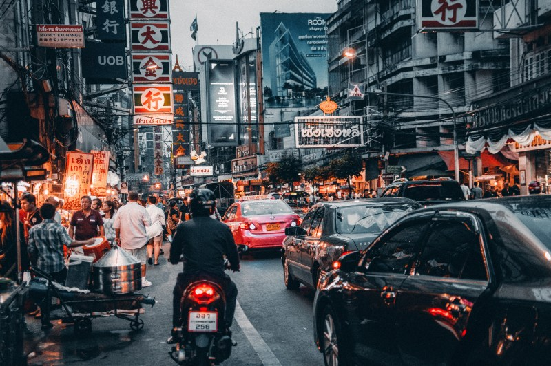 Getting around in Bangkok, Thailand