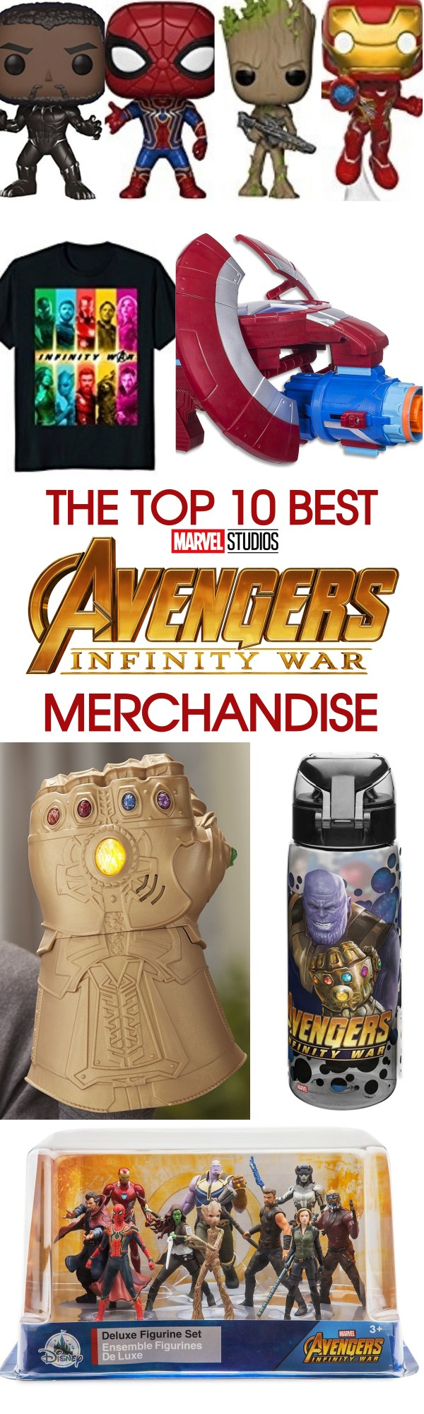 The 10 Best Avengers Infinity War Merchandise Items Available Now for Marvel Fans