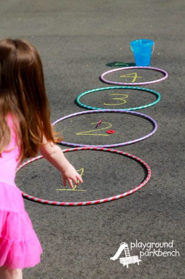 Hula Hoop Outdoor oversized backyard games